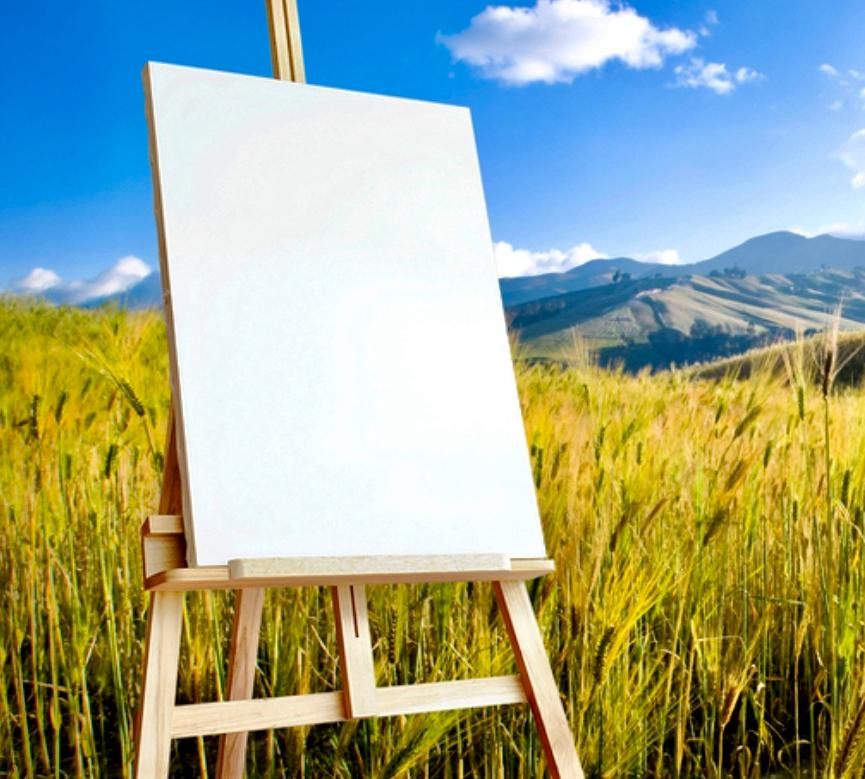 Outdoor painting sessions with Alice Hanakova Sloane
